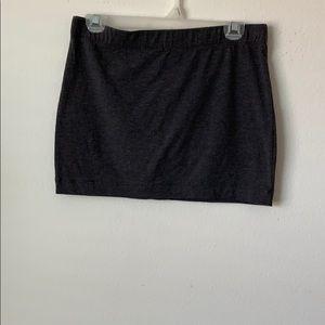 Foreign Exchange stretch mini skirt cotton